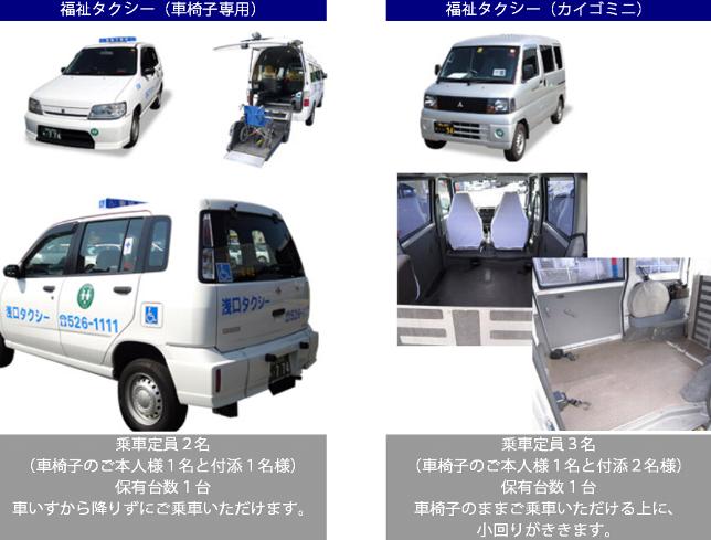 福祉タクシー・介護タクシー