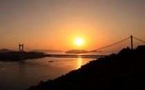 瀬戸大橋と倉敷美観地区コース
